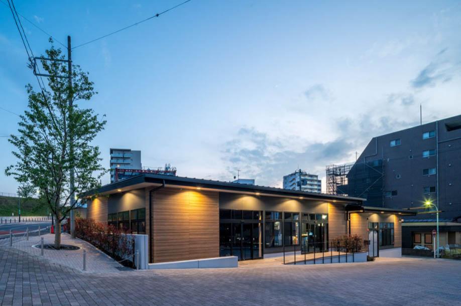 狭山市駅西口のゴトー養殖研究所新本社ビル敷地内の店舗棟に保育所がオープン