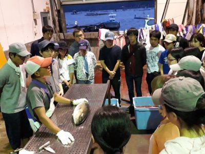 垂水市漁協実習